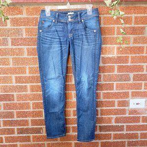 Hudson Skinny Ankle Jeans 26 Dark Wash